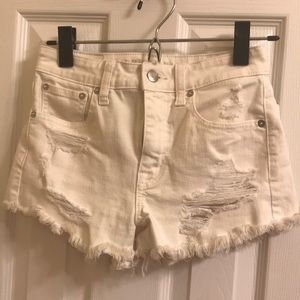 American Eagle Outfitters Shorts - AEO high rise short short